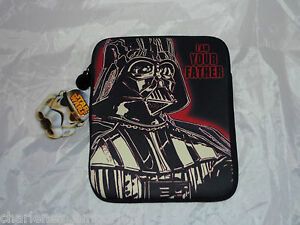 Star Wars Darth Vader I AM YOUR FATHER iPad case zip cover sleeve Fits 1 2 3 4