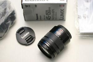 Panasonic Lumix 4-5,6/45-150mm HD Asph. Mega OIS, A-Zustand!