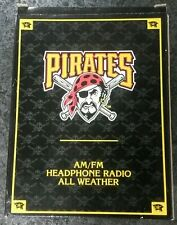 New Pittsburgh Pirates Am/Fm Headphone Radio All Weather
