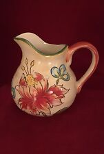 "NEW - RARE - Maxcera - VANILLA CHINTZ -  10oz. Cream Pitcher -  5"" Tall - NEW"