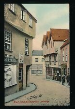 Somerset AXBRIDGE High St Drug Store local children c1900/10s? PPC by Wilkinson