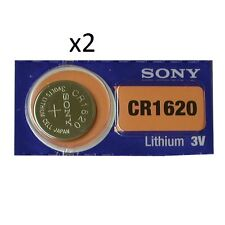 Sony - 2 batterie CR1620 Pila A Bottone Litio - 3V