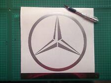 Mercedes Benz  logo / badge car vinyl decal sticker  large.....x1