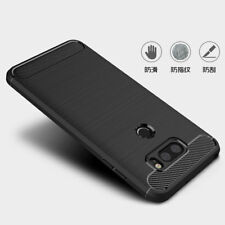 Ultra Thin Brushed Armor Shockproof Hybird Rubber Case Cover For LG G6 V30 Q6