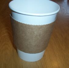 Set of 40 Each Cardboard SLEEVES for 12 oz, 16 oz & 20 oz HOT CUPS / Coffee Tea
