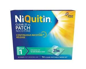Niquitin Patches Step 1 -  21mg x 14 Patches Only £19.99