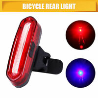 6 Modes USB Rechargeable Bike Bicycle Light Rear Back Safety Tail Light RY