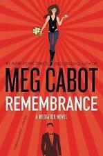 Remembrance: A Mediator Novel, Cabot, Meg, Very Good condition, Book