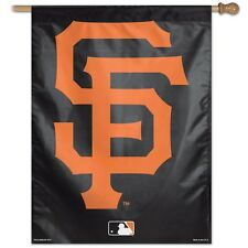 "SAN FRANCISCO GIANTS 2ND DESIGN 27""X37"" BANNER FLAG BRAND NEW WINCRAFT"