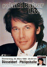 ROLAND KAISER Konzertplakat von 1989