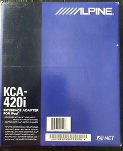 NEW KCA-420i ALPINE Interface Adapter For iPod