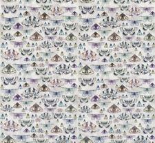 Designers Guild Fabric Issoria Zinc Velvet Butterfly Design Fdg2566/02