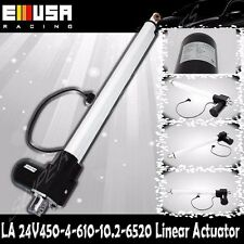 "18"" Stroke Linear Actuator 1300lbs Max Lift for Car Boat 8mm/s Spd DC 24V"