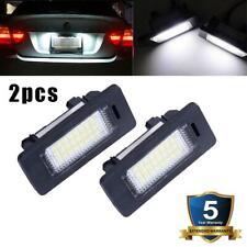 Pair 24 LED License Plate Lights Lamp For BMW E90 M3 E92 E70 E39 F30 E60 E61 E93