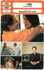 L'AMIE - Schygulla,Von Trotta(Fiche Cinéma) 1982 - Heller Wahn  /  Sheer Madness