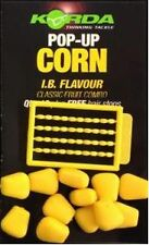 Korda NEW Carp Fishing Fake Food Plastic Pop Up Corn *All Flavours*