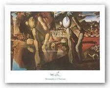 FANTASY ART PRINT Metamorphosis of Narcissus 1937 Salvador Dali