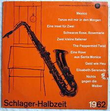 """10"""" EP - SCHLAGER-HALBZEIT 1962 - Regina-Girls, Rivieras, die Amigos u.a."""