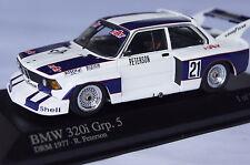 BMW 320i Grp.5 DRM 1977 R.Petersen 1:43  Minichamps neu & OVP 400772321