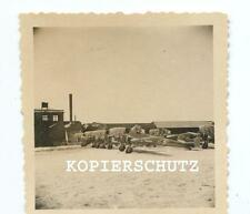 Original Foto polnische Flugzeuge / Potez Bomber Polen  2.WK