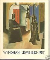 Wyndham Lewis 1882-1957-Exhibition Catalog-Art