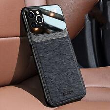 Leather Hybrid Case Luxury Slim Cover For iPhone 12 Pro Max MIni 11 XS 8 7 Plus