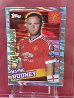 Wayne Rooney Manchester United Premier League 2016 Foil Merlin Sticker