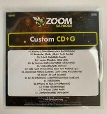 More details for zoom karaoke cd+g disc - pop chart picks 2021 (part 4) - 15 big pop hits!