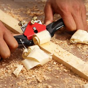 Adjustable Woodworking Plane Wood Hand Planer Tool Blade Spoke Shave Carpenter