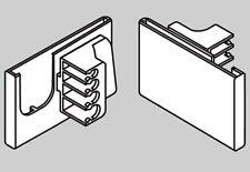 "Scanner Hook Pocket 2""W Label Tag Holder Store Display Barcode Lot Of 50 New"