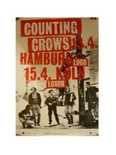 Counting Crows Poster The Crowes Tour Concert German