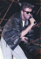 GEORGE MICHAEL PHOTO LIVE AID1985 UNIQUE IMAGE UNRELEASED HUGE 12INCH EXCLUSIVE