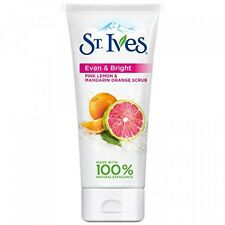 St. Ives Even & Bright Face Scrub, Pink Lemon and Mandarin Orange 6 oz