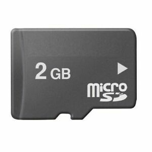 2GB Micro SD Mixed Brands Memory Card for Cellphones flash card 2 GB MicroSD