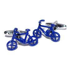 Blu Gemelli bici ciclismo & Organza Pouch
