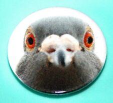 LONDON ATTITUDE PIGEON BIRD BUTTON PIN BADGE