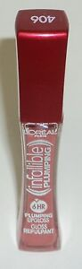 L'OREAL PARIS Infallible Le Gloss Plumping 6 Hr PLUMPED CORAL 406