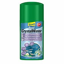Tetra Pond Crystal Water 250ml - Treatment Effectively Clears Dirty Pond Water
