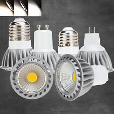 Dimmable LED COB Spotlight Bulbs MR16 GU10 E27 15W 220V Ultra Bright Lamps CREE