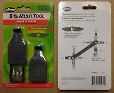 New Slime Compact Repair Tool 11 in 1 Bicycle Bike Multi Tool w/ Tire Levers