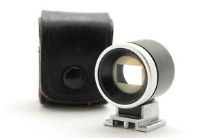 [N MINT w/Parallax Correction] Canon 50mm View Finder for Rangefinder From JAPAN