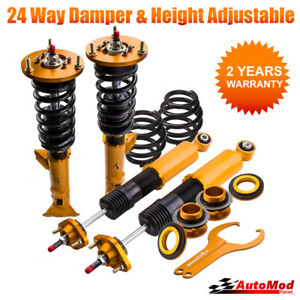 24 levels Adjustable Damper Coilover Coilovers for BMW E36 3 Series 1991–1999