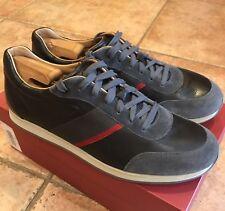 Salvatore Ferragamo Men's Fashion Sneakers Black/Grey Barely Used 10