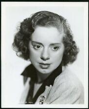 ELSA LANCHESTER in THOUGHTFUL POSE Original Vintage 1930s PORTRAIT Photo