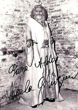 NICOLA GHIUSELEV opera bass signed photo as Zaccaria in Nabucco