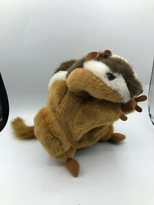 Official Folkmanis Puppets Chipmunk Hand Puppet Plush Kids Stuffed Toy Animal