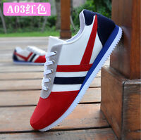2015 New Men's shoes Canvas Casual breathable Sneakers Lace up Shoes