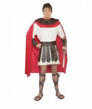 Roman Soldier Adult Men Costume Marc Anthony Warrior Adult L-Xxl Cape Armor Belt