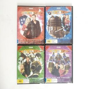 Doctor Who Series 1 Volume 1, 2, 3 & 4 DVD Region 4 AUS TV Series Free Post
