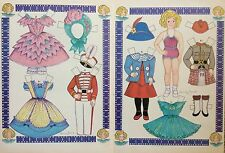 Shirley Temple Magazine Paper Doll,1987, By Loraine Morris
